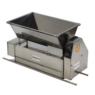 Tom Press 78x54 Stainless Steel Grape Seed Crusher