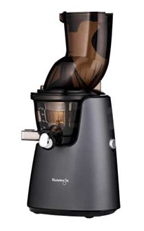 Matte Gray Electric Juice Extractor Large Opening Kuvings D9900