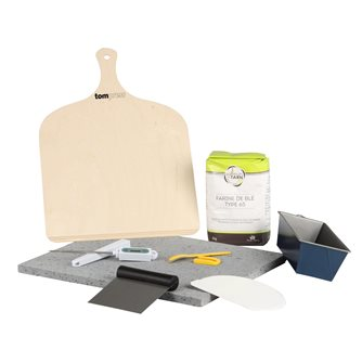 Kit for making homemade bread by Tom Press