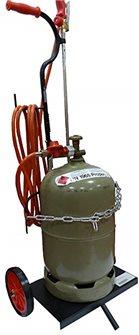 Chariot pour bouteille de gaz roues pleines