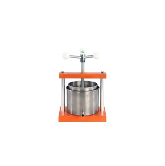 3.3 litre stainless steel screw press