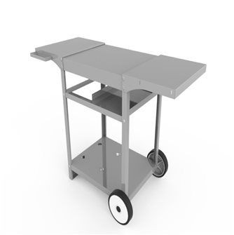 Stainless steel trolley for Ursuia and Basque plancha