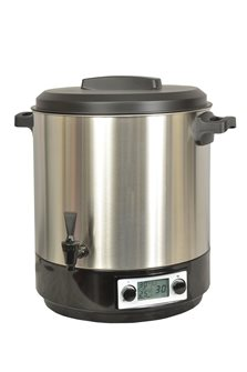 Automatic stainless steel sterilizer 31 l for 2000 W