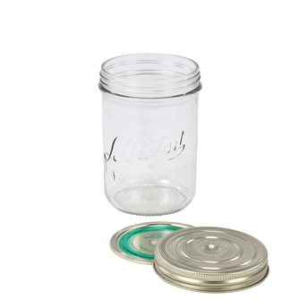 Jar Familia Wiss® 750 g with its capsule and its lid