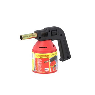 Large capacity kitchen torch with piezo