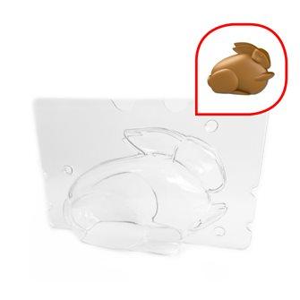 Easter chocolate bunny mold 12x5.5x8.5 cm