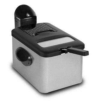 Fryer 3 200 W 4.5 liters 1.5 kg of French fries with stainless steel carcass filter