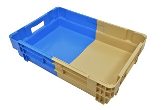 25 liters full bottom and wall tray with handles