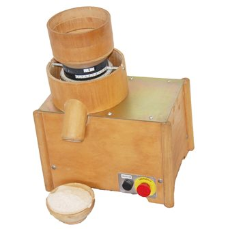 Big electric cereal mill