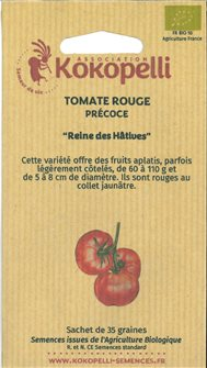 Reine des Hâtives tomato seeds