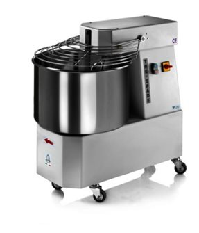Electric baker´s kneading machine with stainless steel 47 litre bowl