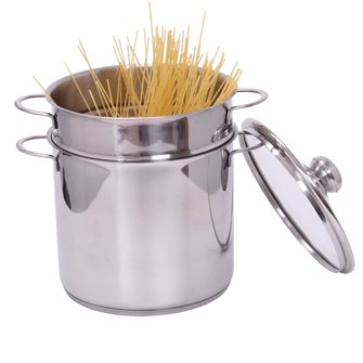 Pasta cooker - stainless steel - 5 litres - induction