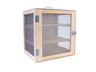 Natural wood pantry 50x50x40 cm